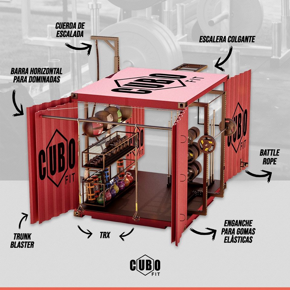 Cubo Fit - Ebone Gestión Deportiva